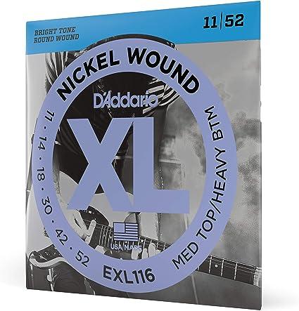 DAddario EXL116 - Juego de cuerdas para guitarra eléctrica de ...