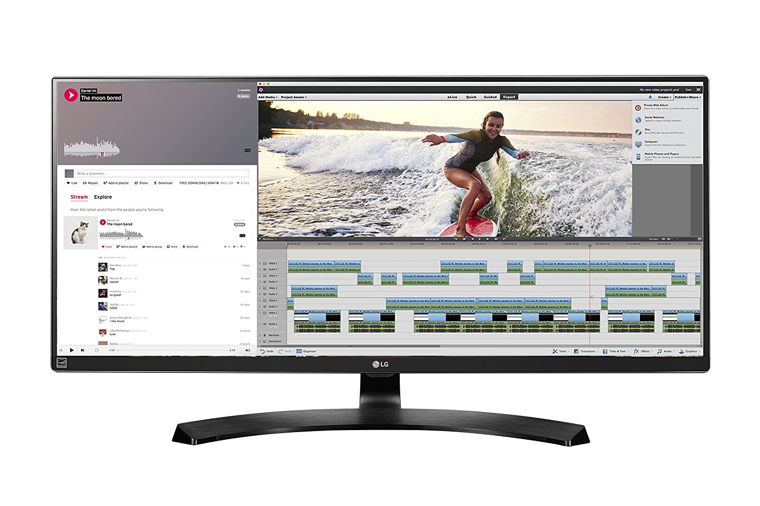 video editing monitor