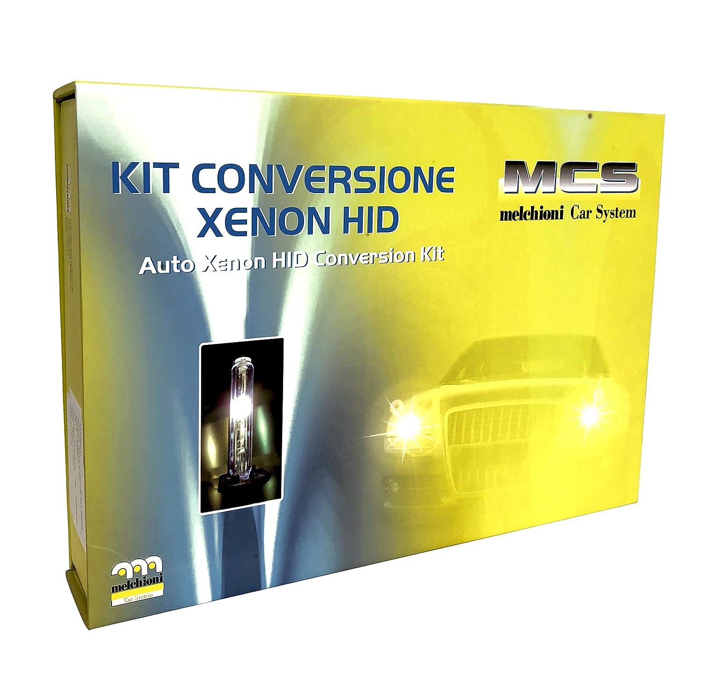 centralitas para luz abbagliante o anti-reflejo /3/12/V 6000/K l/ámparas Melchioni 353000006/Kit de conversi/ón HID Xenon CANBUS/