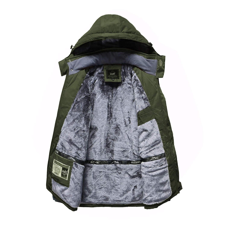 Amazon.com: Spmor - Chaqueta de esquí impermeable para ...