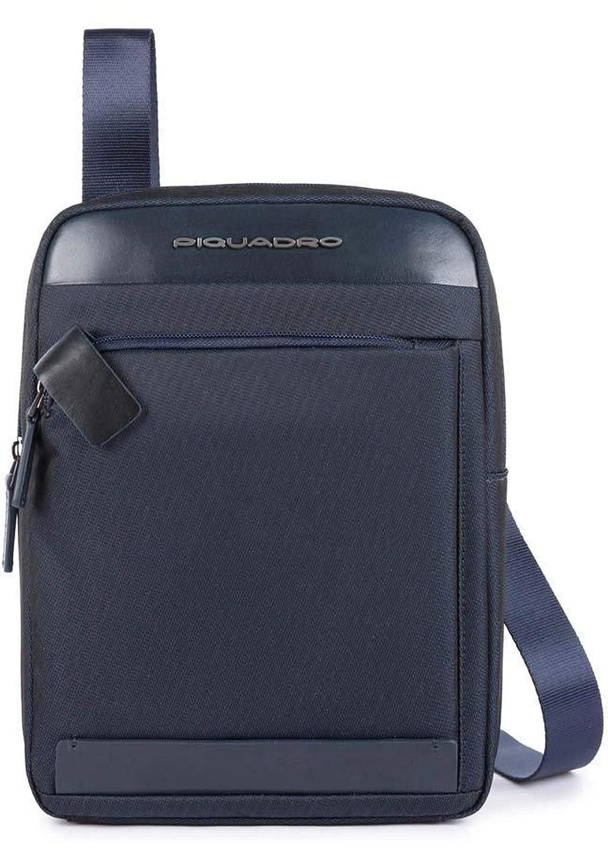 """PIQUADRO Borsello Porta iPad®10,5'' e iPad 9,7"""" Colore Blu. MOD CA1816S100BLU"""