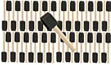Pro Grade - Foam Brushes - 1 Inch 48 Piece Foam