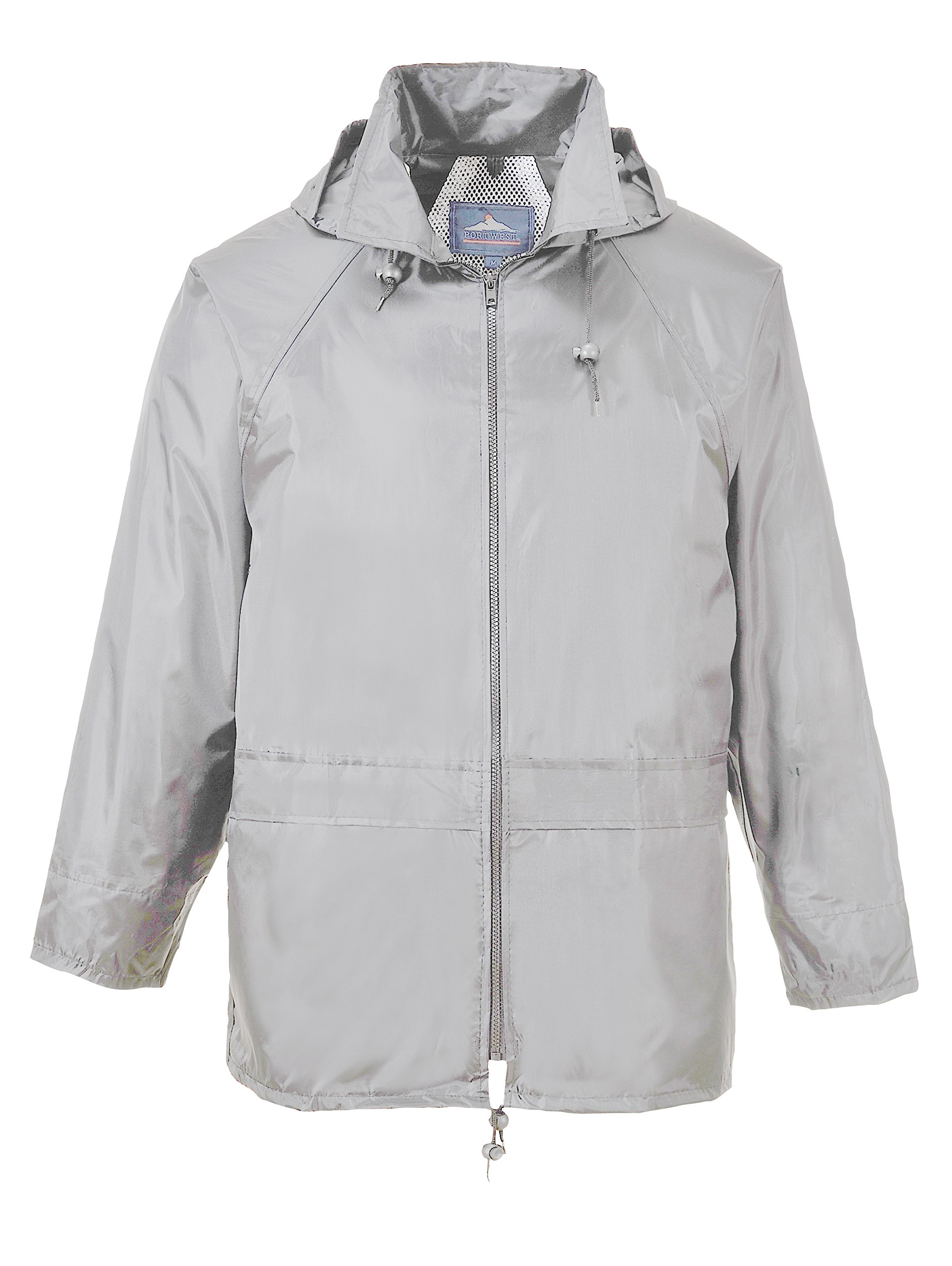 Portwest Workwear Mens Rain Jacket Grey Medium by Portwest (Image #1)