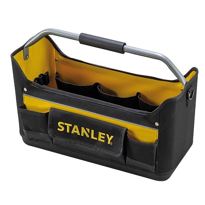 STANLEY 1-96-182 - Bolsa de Herramientas Abierta, 44.7 x 25.1 x 27.7 cm