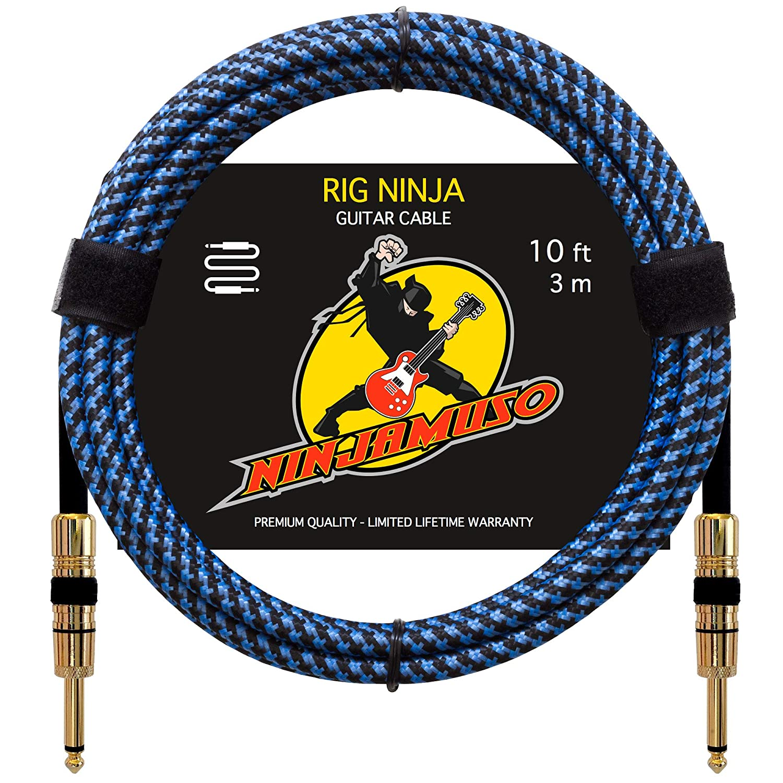 Rig Ninja Premium - Cable de guitarra instrumentos musicales ...