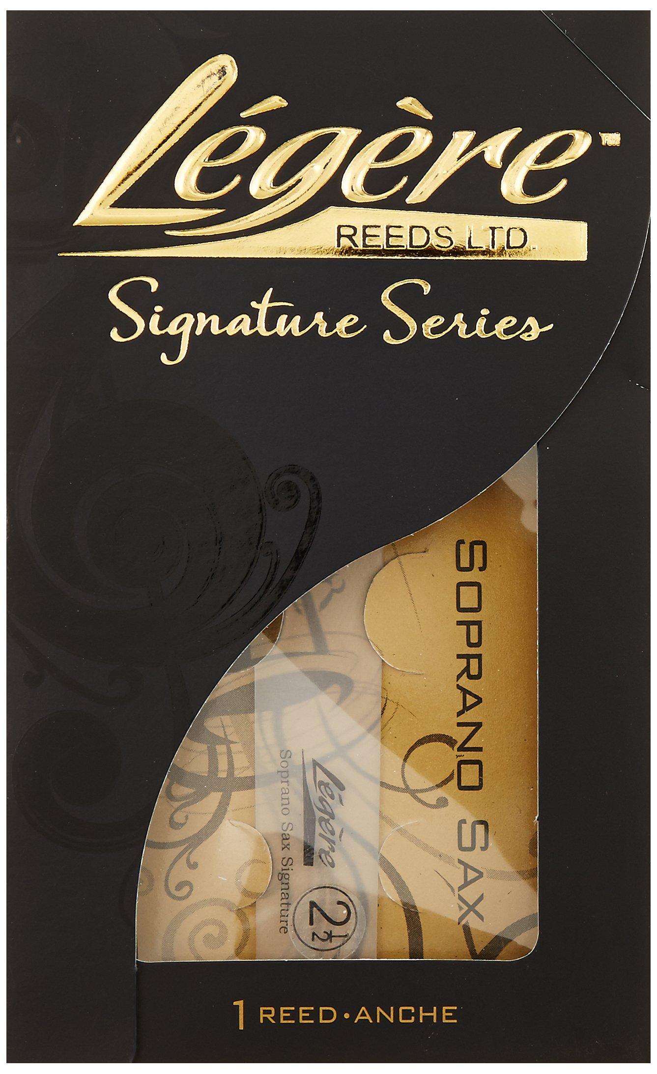 Legere SSG250 Signature Series Bb Soprano Saxophone No. 2.5 Reed