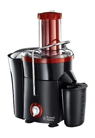 Russell Hobbs 20360 - Exprimidor (Exprimidor, Negro, Rojo, 750 ml, Acero
