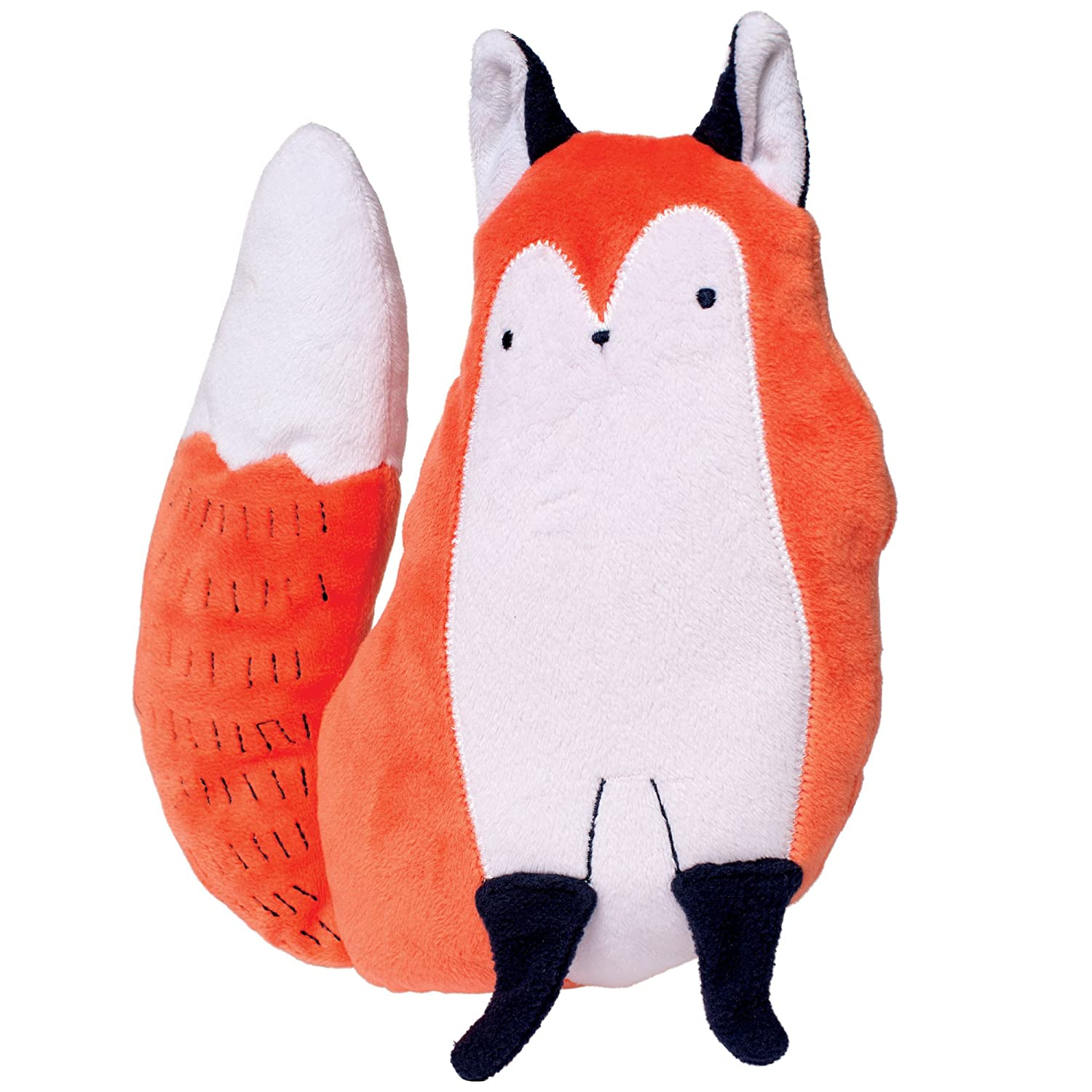 Manhattan Toy Camp Acorn Fox Snuggle Pillow Soft Baby Plush Toy