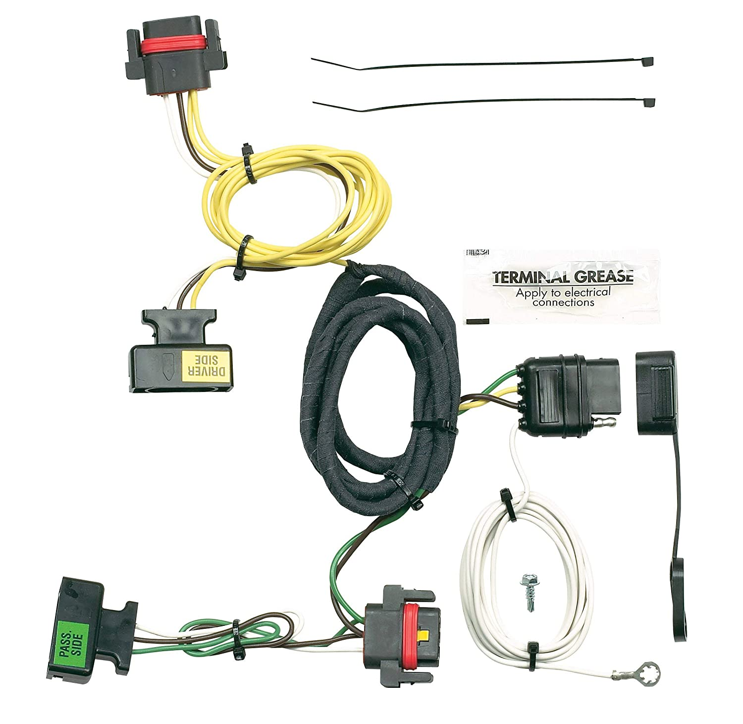 Hopkins 42205 Plug-In Simple Vehicle Wiring Kit Hopkins Towing Solution 52968