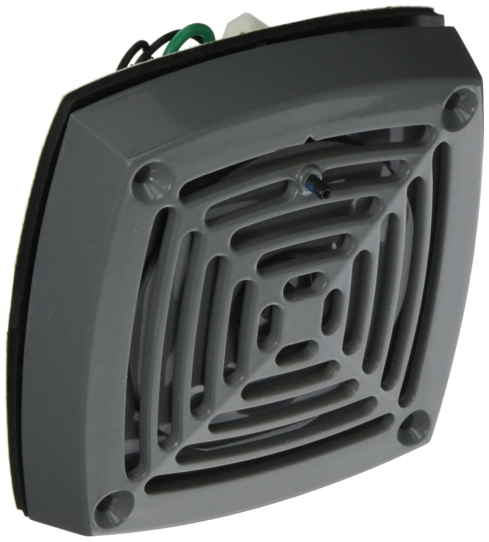 Edwards Signaling 870P-N5 Vibrating Horn, Heavy Duty, 113/103 db, Panel Mount, Volume Adjustable, 120V AC, Gray by Edwards-Signaling