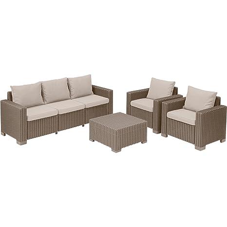 JTF Mega Discount Warehouse Allibert Keter California 5 sofá ...