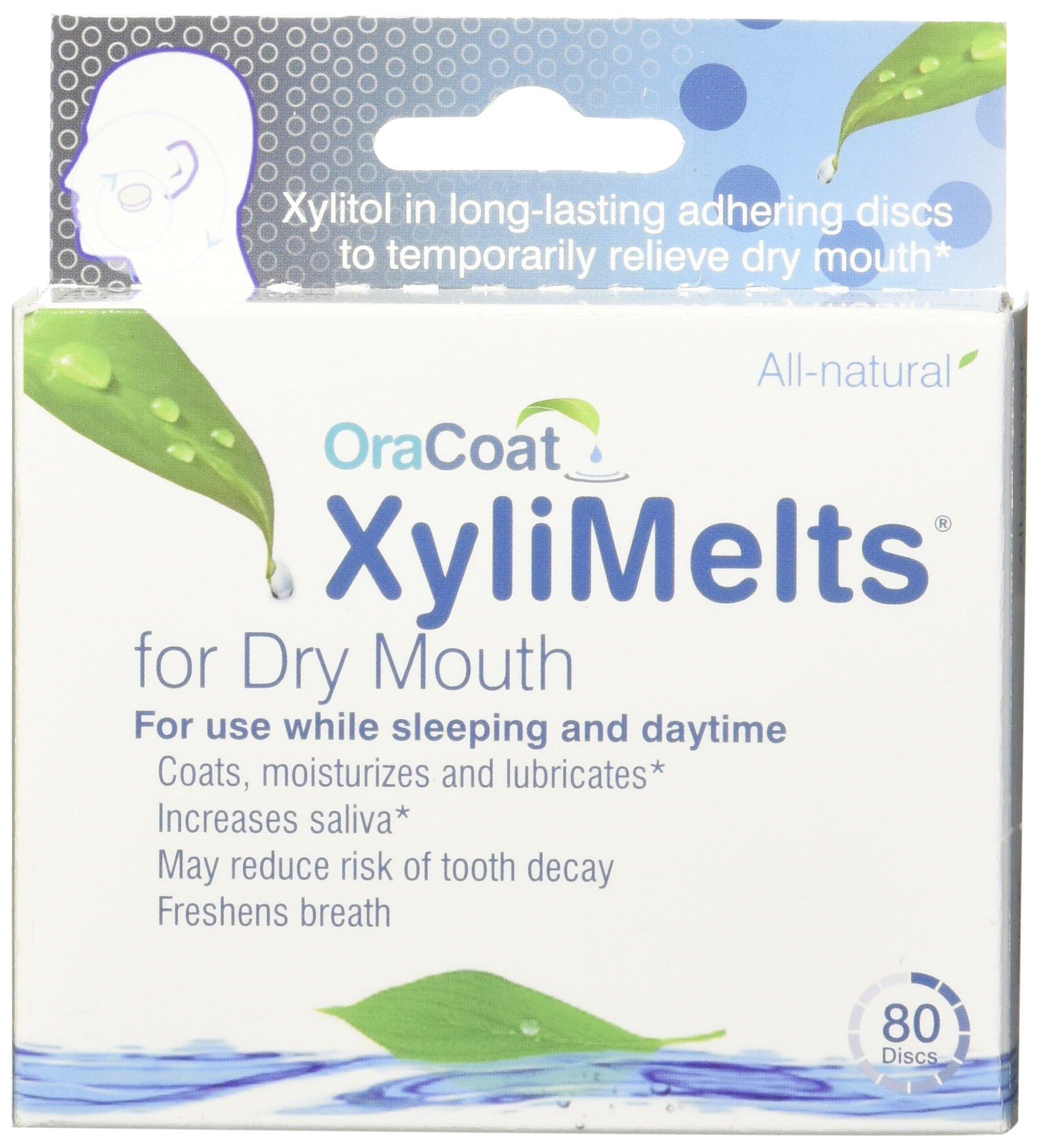 Oracoat Xylimelts Mild Mint Flavor, 80-Count Box