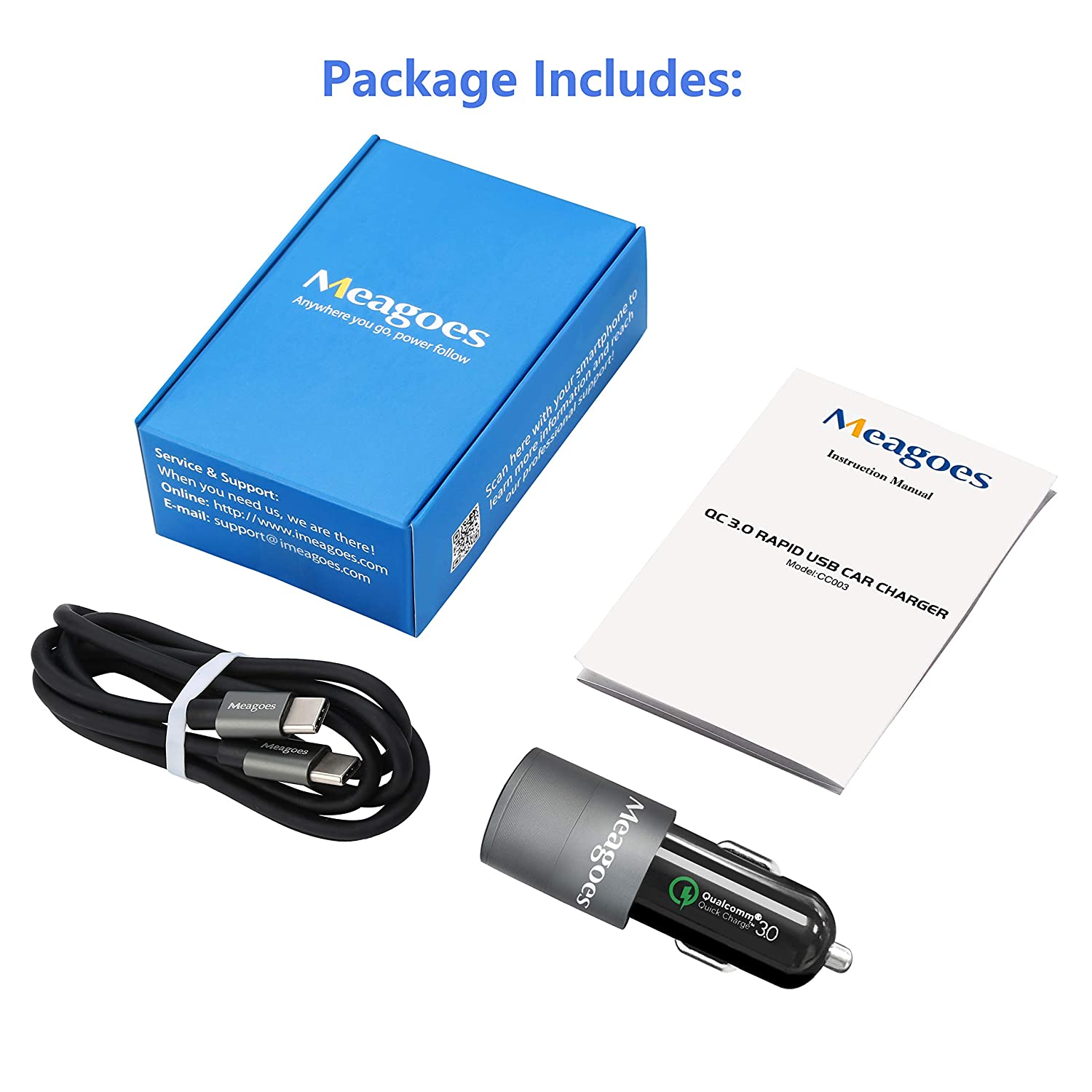 X4 Motorola Phone Z3 Play//Z3//Z2 Force//Z2 Play Dual Ports PD /& QC 3.0 Car Adapter with USB Type C to C Cord 4351538516 Meagoes Rapid Car Charger Compatible Moto G7 Plus//G7 Power//G7 Play//G7//G6 Plus//G6