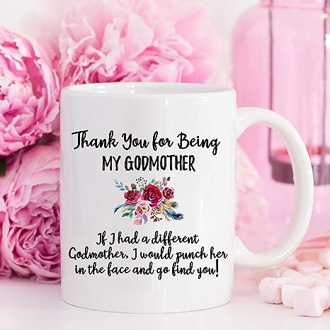 Amazon.com: Godmother Taza de regalo para mamá de Diosa para ...