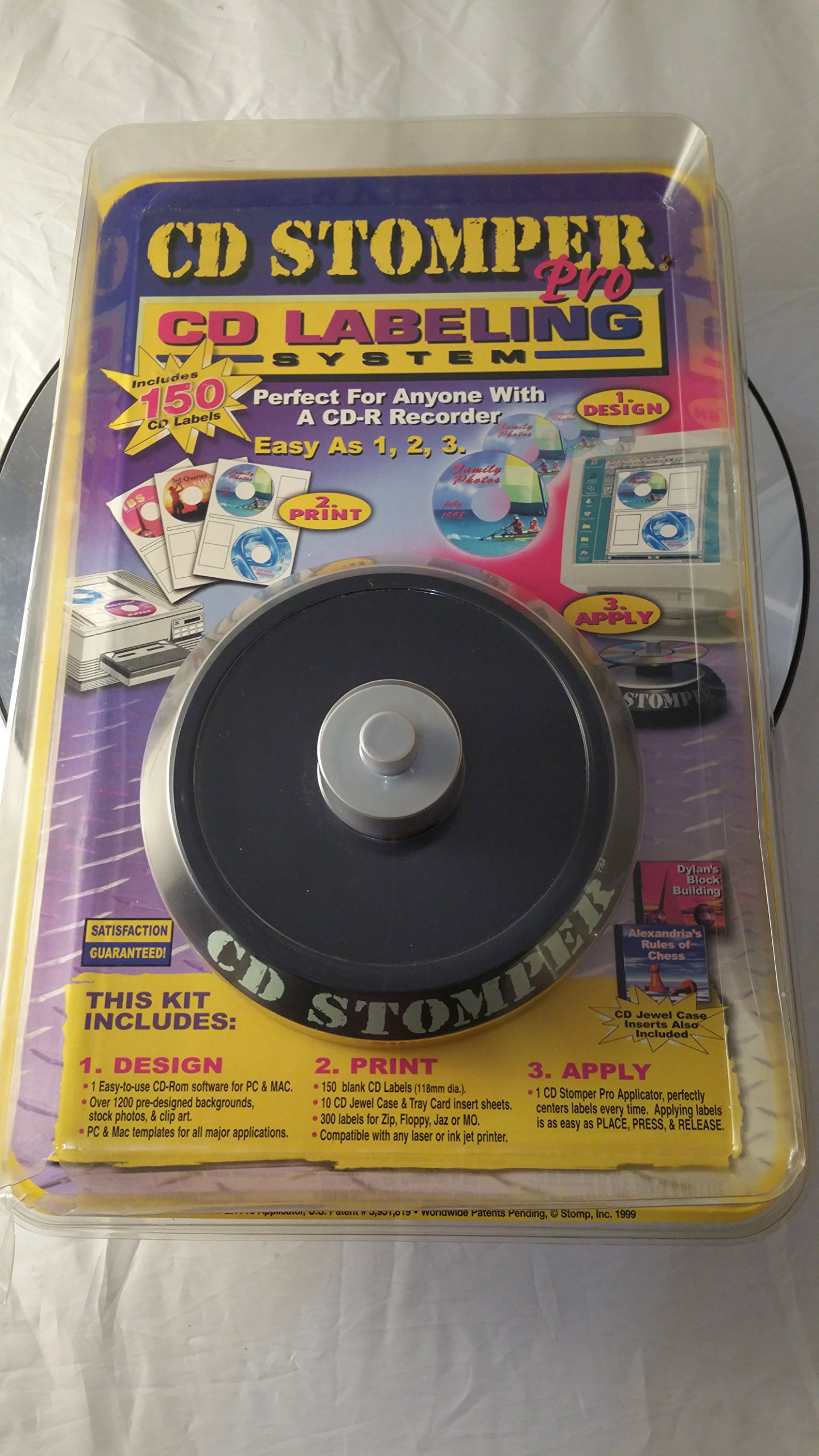 CD Stomper Pro CD Labeling System by Cd Stomper