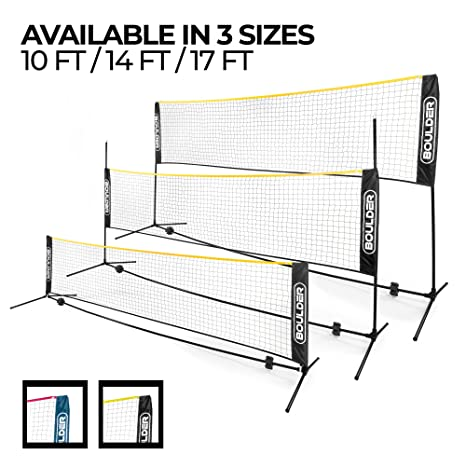 958f55b77afcb Buy Boulder Portable Badminton Net Set - Net for Tennis