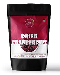 Raw Essentials Dried Cranberries (500)