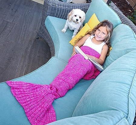 099c3c863cd3 Mermaid Tail Blanket for Kids
