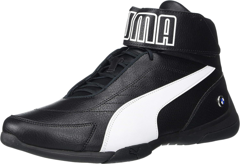 PUMA Men's BMW MMS Kart Cat Mid Sneaker