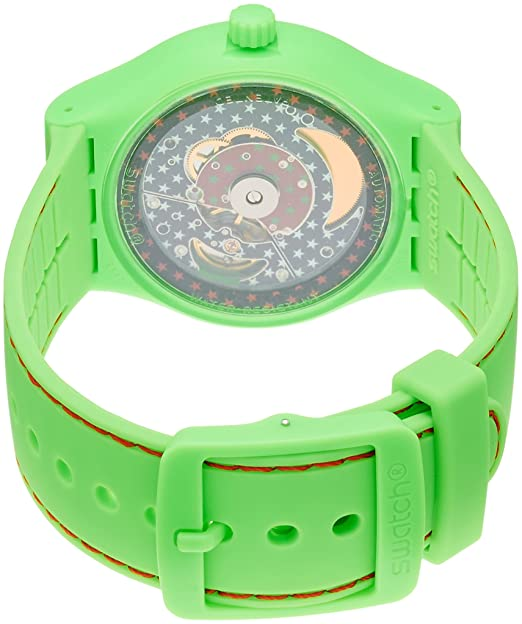 Amazon.com: Swatch SUTG401 Sistem 51 Sistem Frog Unisex Watch: Swatch: Watches