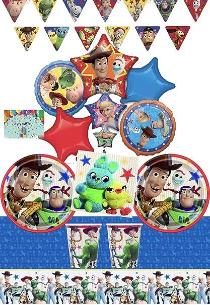 Amazon.com: JPMD Toy Story - Juego de vajilla y decoración ...