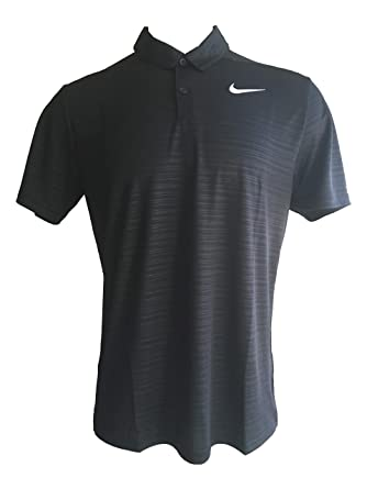a146458a91 Amazon.com: Nike Men's Dri-Fit Essential Embossed Golf Polo Shirt Short  Sleeve Shirts: Clothing
