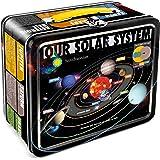 Aquarius Smithsonian Solar System Large Tin Fun Box