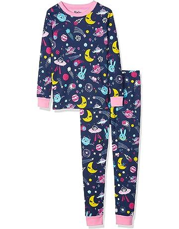 1d6b7612e Hatley Girl's Organic Cotton Long Sleeve Printed Pyjama Sets