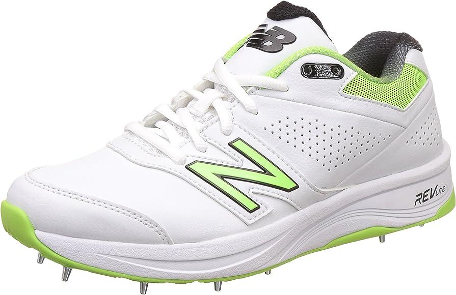 4030 V3 White Cricket Shoes