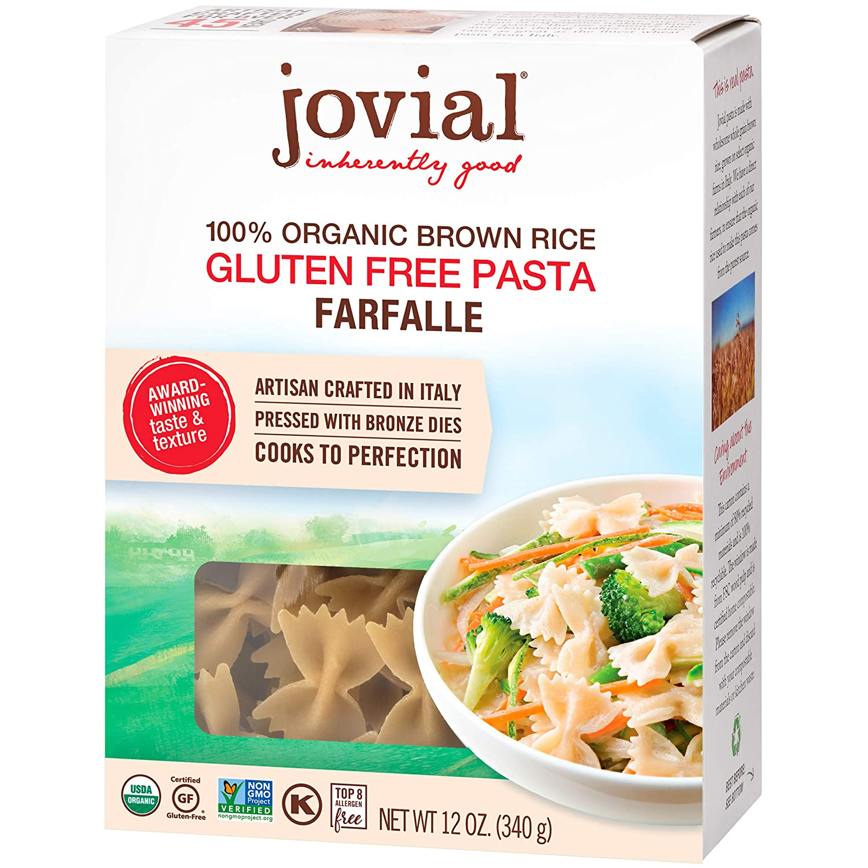 Jovial Gluten Free Farfalle Pasta