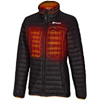 Venture Heat Women's Heated Jacket with Battery 12 Hour - The Traverse Packable Puffer