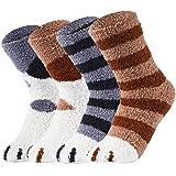 VBIGER Calcetines de Piso Calcetines de Invierno Calientes para Mujer Calcetines Termicos de Mujer Vellón de Coral…
