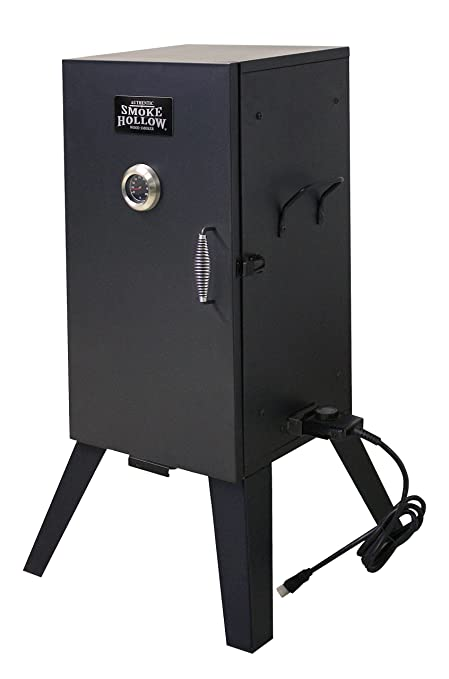 Image result for Smoke Hollow 26142E 26-Inch Electric Smoker with Adjustable Temperature Control