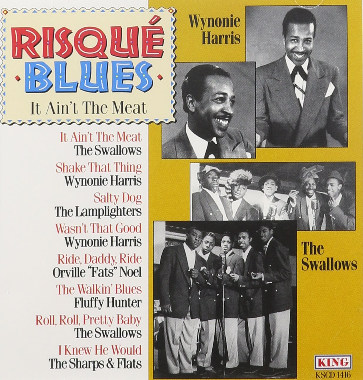 Risque Blues: It Ain't Meat