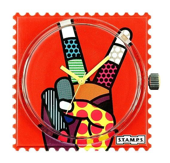 S.T.A.M.P.S. Stamps Reloj, esfera Frogman, impermeable Victory 104268: Amazon.es: Relojes