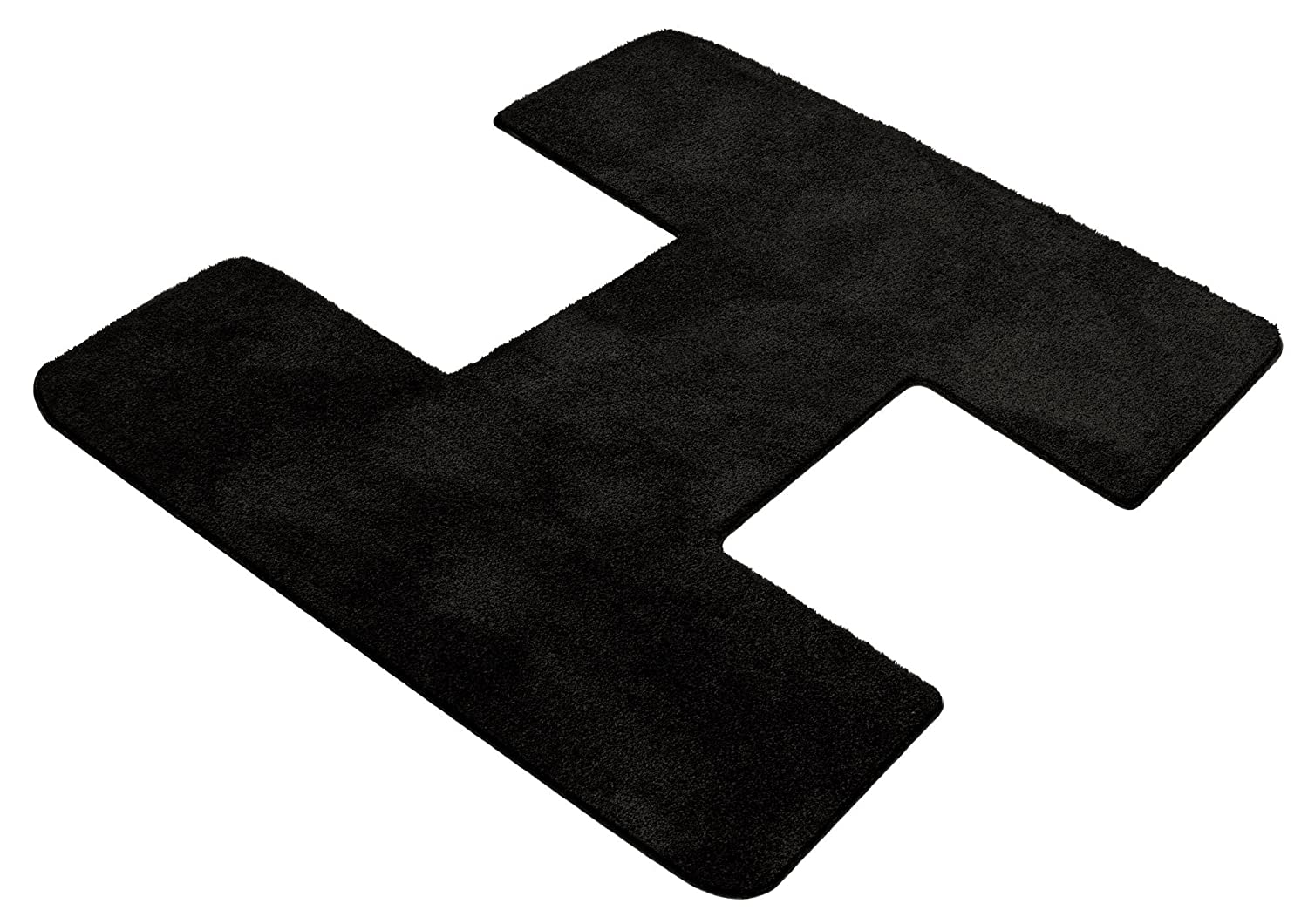 Black Coverking Custom Fit Front Floor Mats for Select Chevrolet Astro Models Nylon Carpet