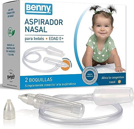 NUEVO: Aspirador Nasal Bebes con regulación automática de la presión - 0% BPA, sin alimentación electrica directa, el método más seguro: Amazon.es: Bebé