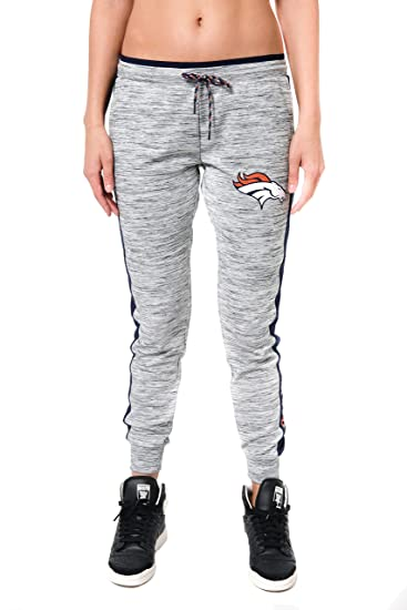 11a07ea4 ICER Brands Adult Women Jogger Pants Active Basic Fleece Sweatpants, Gray,  Space Dye, Large