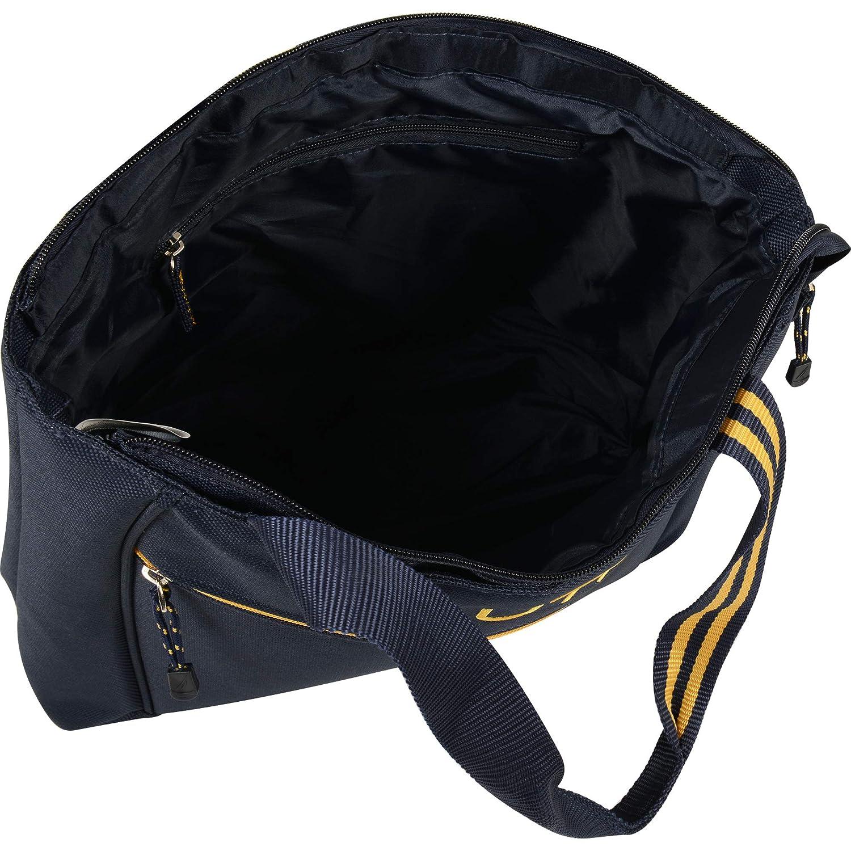 One Size Navy//Yellow Nautica Luggage Helmsman Boat Classic Tote