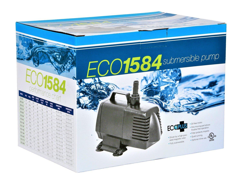EcoPlus Eco 1584 Fixed Flow Submersible/Inline Pump 1638 GPH - 728330