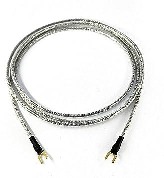 Cable de Tierra 1 x 0,50 mm2 para Tocadiscos Dispositivos de Phono ...