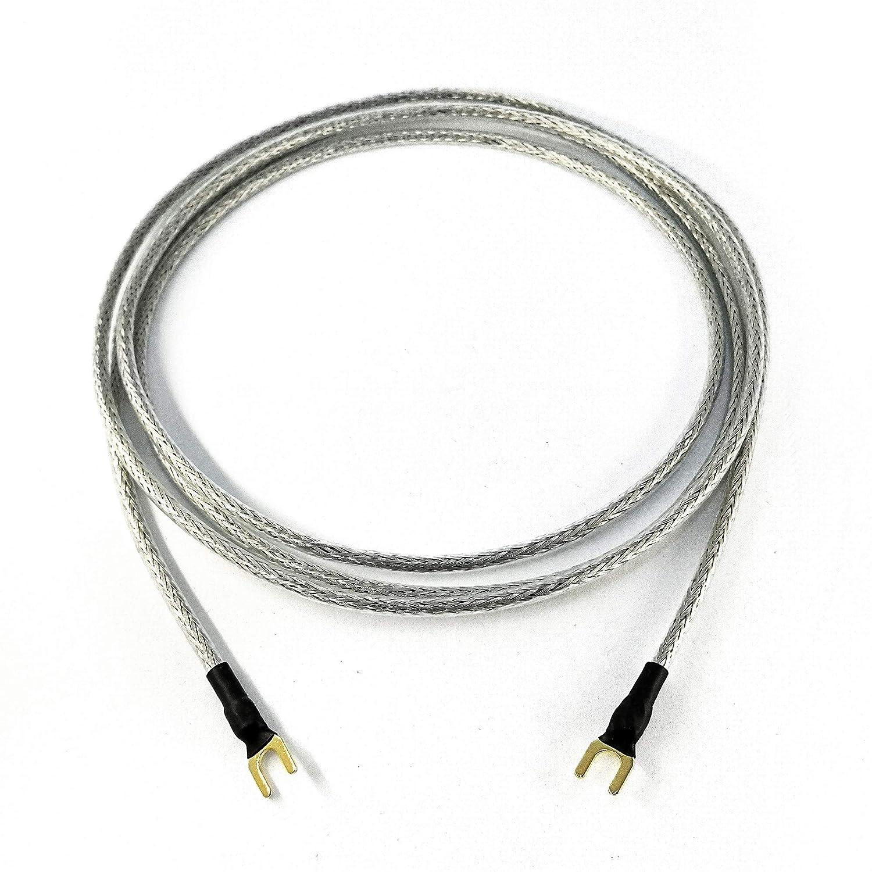 Cable de Tierra 1 x 0,50 mm2 para Tocadiscos Dispositivos de ...