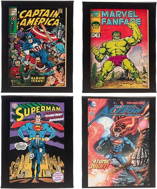 SUPERMAN ISSUE ONE DC COMICS POP ART CANVAS WALL ART PRINTS VINTAGE PICTURES