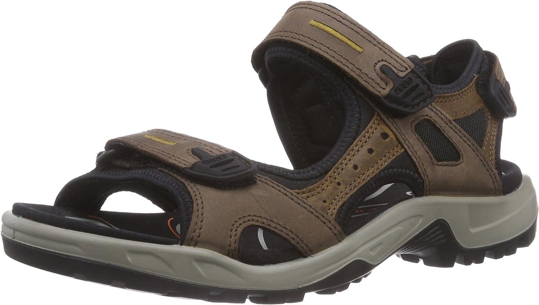 ECCO Men's Yucatan outdoor offroad hiking sandal, Espresso/Cocoa Brown/Black, 43 EU (US Men's 9-9.5 M)