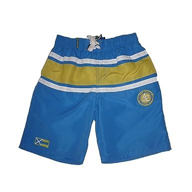 5355182ff5ca0 LOSAN - Short de bain - Garçon bleu 8 ans: Amazon.fr: Vêtements et ...