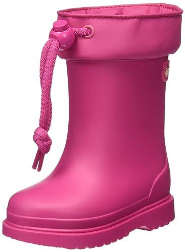 Unisex Kids Chufo Cuello Wellington Boots, Red Igor