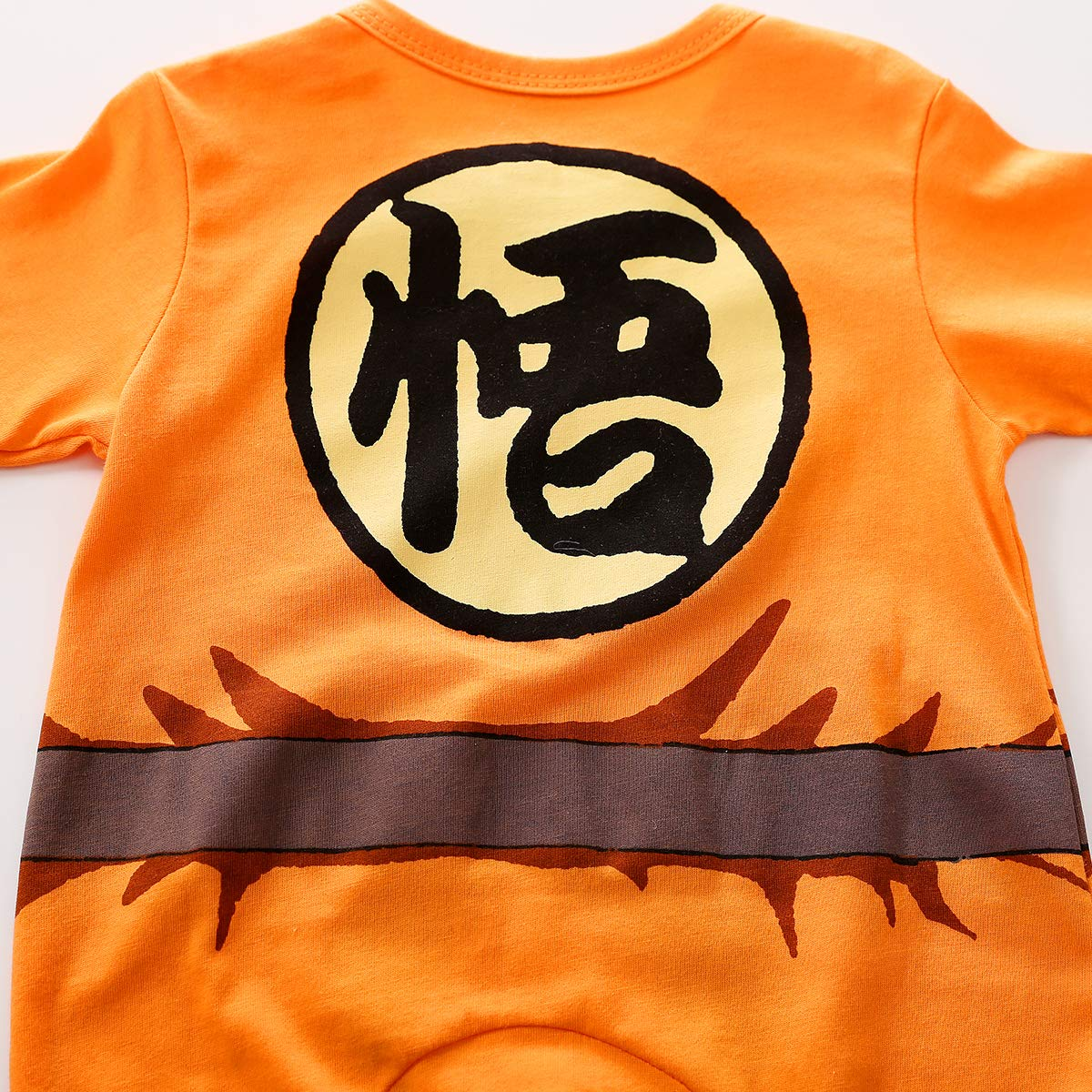 Amazon.com: Newborn Baby Role Playing Goku Jumpsuit Cartoon Rompers ...