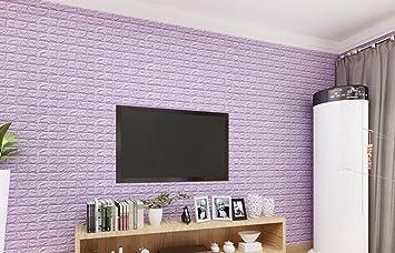 Wandaufkleber 3d Backsteinmauer Fernsehhintergrundwand Schälen Und