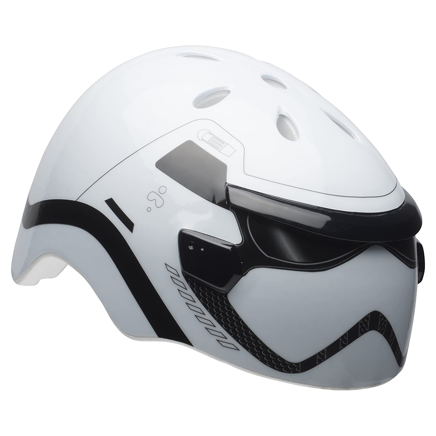 Bell Kids' Star Wars 3D Trooper MS Helmet, Multi Coloured, 50-54 cm 7095425