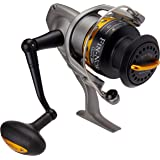 Fin-Nor LT60 Lethal Spinning Reel, 240-Yards, 14-Pound Mono Line Capacity, 30-Pound Maximum Drag, Gray and Black Finish